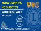 fight against  diabtise